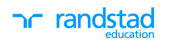 Randstad education blue