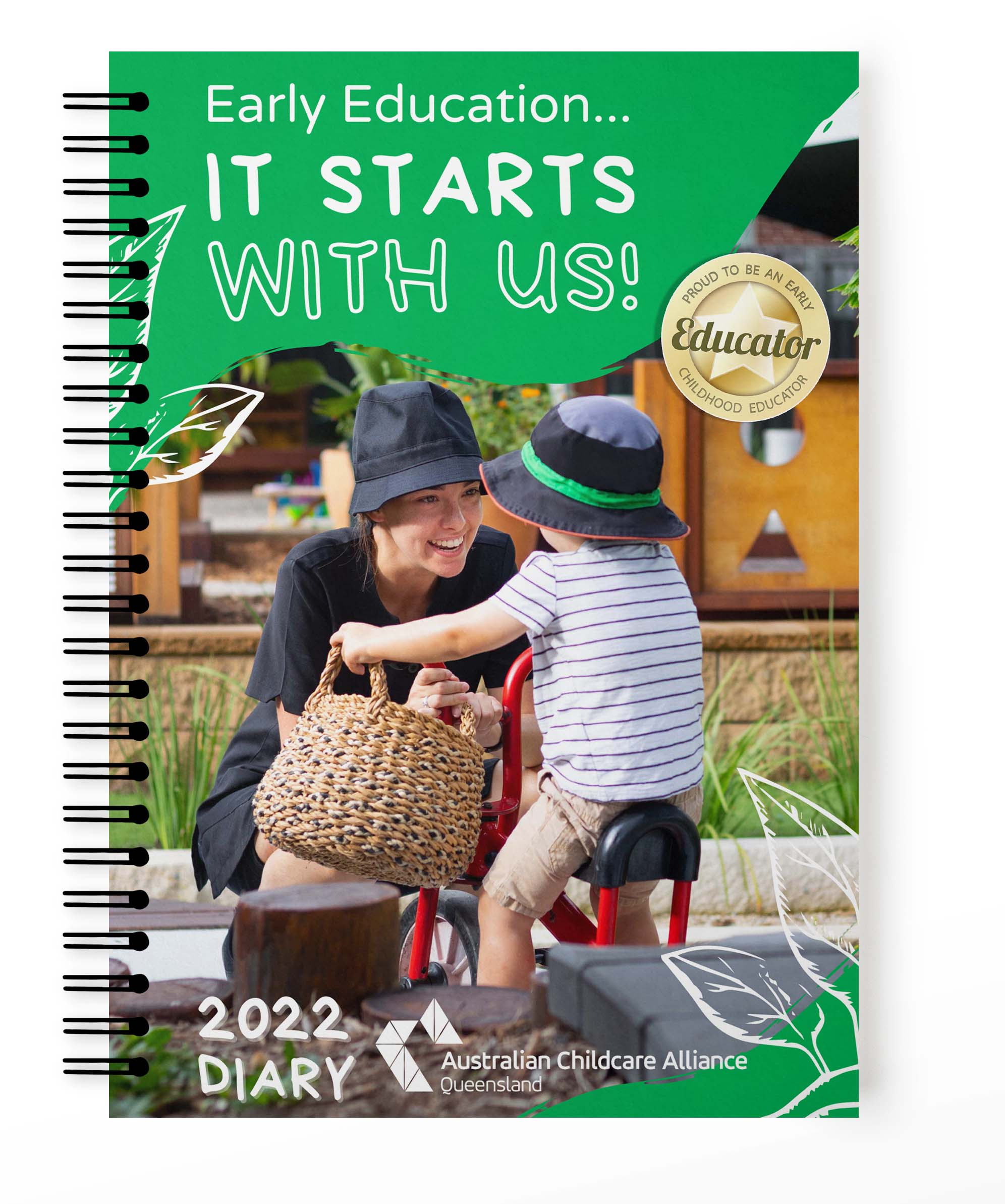 Pre-order your ACA Qld 2022 Diary!